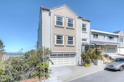 SAN FRANCISCO Single Family Home For Sale: 650 Ortega St