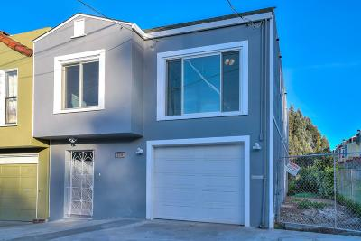 SAN FRANCISCO Single Family Home For Sale: 215 Middle Point Rd