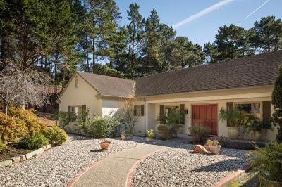 Pebble Beach Single Family Home For Sale: 3978 Ronda Rd