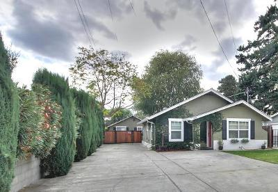 SAN JOSE Multi Family Home For Sale: 1106 Malone Rd