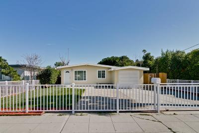 Menlo Park Single Family Home For Sale: 309 Market Pl