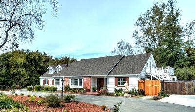 LOS GATOS Single Family Home For Sale: 100 & 104 Montclair Rd