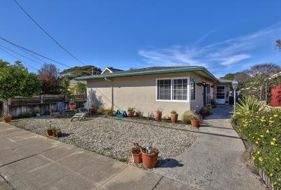 Pacific Grove Single Family Home For Sale: 278-280 Junipero Ave