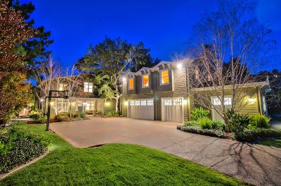 LOS GATOS Single Family Home For Sale: 16085 Shannon Rd