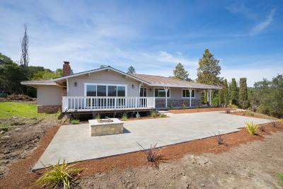 SCOTTS VALLEY CA Single Family Home For Sale: $1,485,000