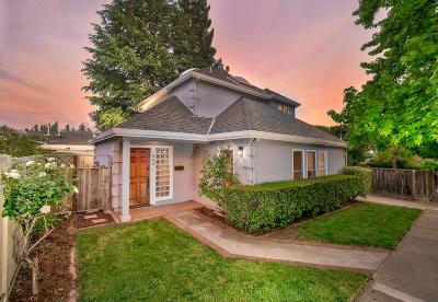LOS GATOS Single Family Home For Sale: 620 San Benito Ave