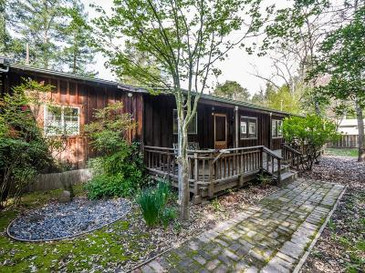 Boulder Creek Single Family Home For Sale: 15889 Kings Creek Rd