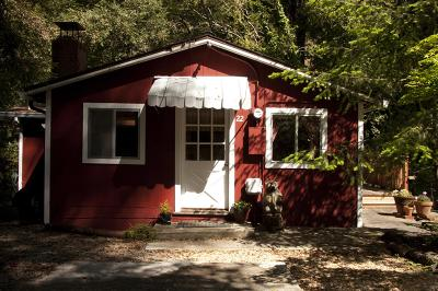Santa Cruz County Single Family Home Contingent: 13550 Bear Creek Rd 22