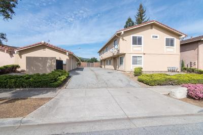 GILROY Multi Family Home For Sale: 6755 Filbro Dr