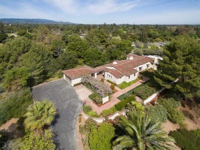 LOS GATOS Single Family Home For Sale: 101 Casa Grande
