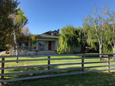 HOLLISTER CA Single Family Home For Sale: $620,000