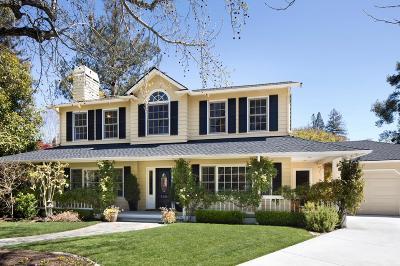 MENLO PARK Single Family Home For Sale: 540 Fanita Way