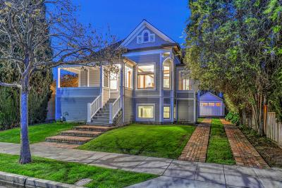 SANTA CLARA Single Family Home For Sale: 1050 Harrison St