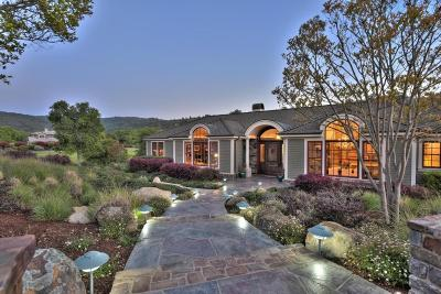 Portola Valley Single Family Home For Sale: 6 Redberry Rdg