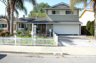 SANTA CLARA Single Family Home For Sale: 3093 Millar Ave