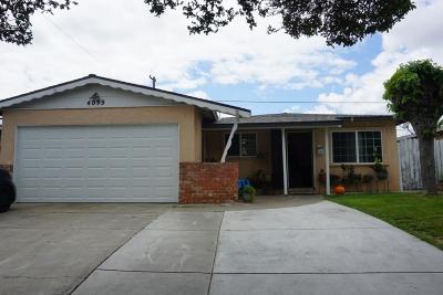 SAN JOSE Single Family Home For Sale: 4099 San Bernardino Way