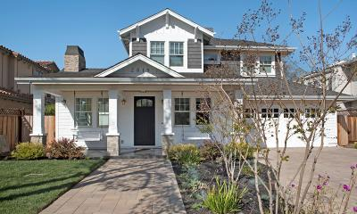 Palo Alto Single Family Home For Sale: 2819 Ramona St