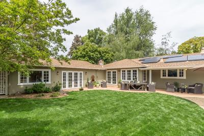 MENLO PARK Single Family Home For Sale: 190 Pineview Ln