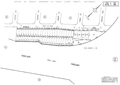 San Jose Residential Lots & Land For Sale: 0 Herald Ave