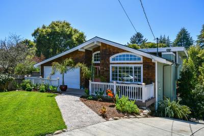 Santa Cruz County Single Family Home Contingent: 223 Sierra Vista Ct