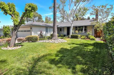 SAN JOSE Single Family Home For Sale: 2496 Villanova Rd