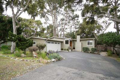 Pacific Grove Single Family Home For Sale: 825 Marino Pines Rd