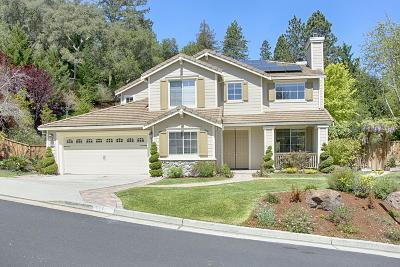 SCOTTS VALLEY CA Single Family Home For Sale: $1,499,000