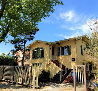 BERKELEY Multi Family Home For Sale: 1817 6th St