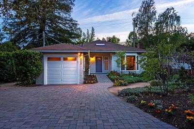 PALO ALTO Single Family Home For Sale: 2240 Saint Francis Dr