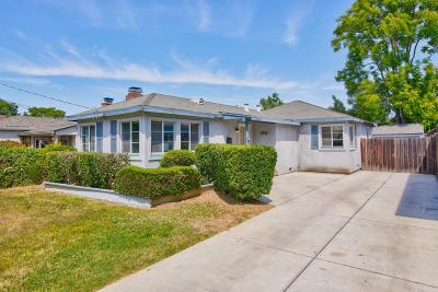 SAN JOSE Single Family Home For Sale: 1726 Guadalupe Ave