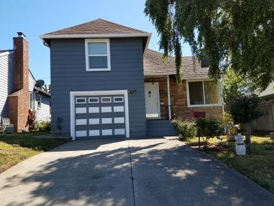 South San Francisco Single Family Home For Sale: 322 Fairway Dr
