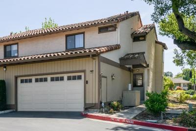 Mountain View, Sunnyvale Townhouse For Sale: 1696 Belleville Way