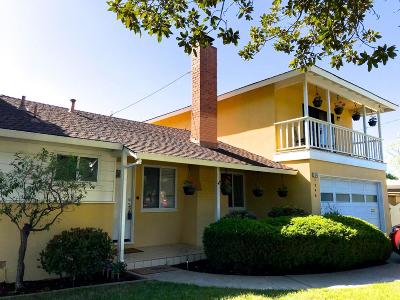 SANTA CLARA Single Family Home For Sale: 1846 Los Padres Blvd