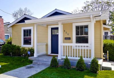 Los Altos, Los Altos Hills, Mountain View, Sunnyvale Single Family Home For Sale: 150 N Taaffe St