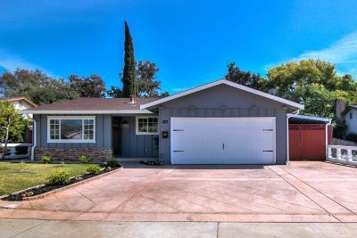 SAN JOSE CA Single Family Home For Sale: $988,000