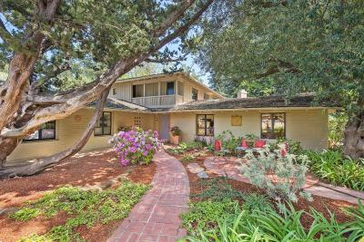 Palo Alto Single Family Home For Sale: 1099 Los Robles Ave