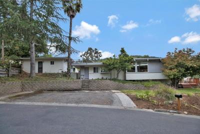 LOS GATOS Single Family Home For Sale: 160 College Ave
