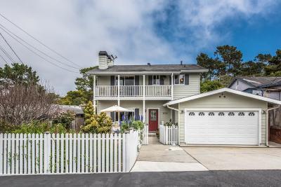 Monterey Single Family Home Contingent: 858 Jessie St