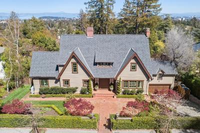 Hillsborough Single Family Home For Sale: 426 El Arroyo Rd
