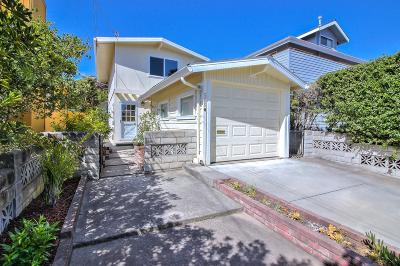 Monterey Single Family Home For Sale: 589 Newton St