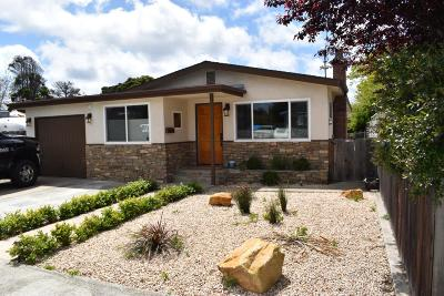 Monterey Single Family Home For Sale: 448 Hannon Ave