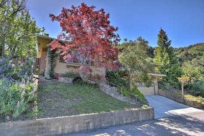 Cupertino Single Family Home Contingent: 22780 Mercedes Rd
