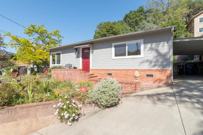 LOS GATOS Single Family Home For Sale: 121 College Ave