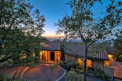 LOS GATOS Single Family Home Contingent: 16696 Cypress Way