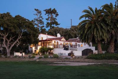 Pebble Beach Single Family Home For Sale: 1001 San Carlos Rd