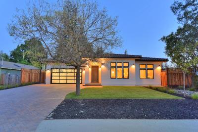 Los Altos Single Family Home For Sale: 168 Loucks Ave
