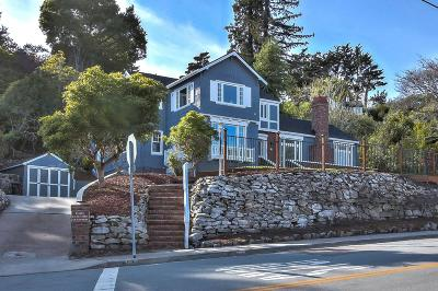Santa Cruz County Single Family Home For Sale: 662 Escalona Dr