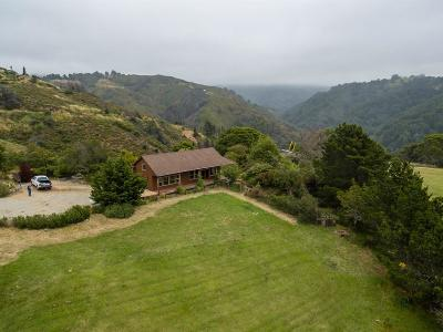 Big Sur Single Family Home For Sale: 9245 Sycamore Canyon Rd