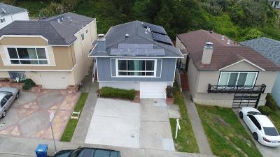 DALY CITY CA Single Family Home For Sale: $875,000