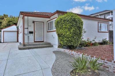 SAN MATEO Single Family Home For Sale: 1409 Bradley Ct
